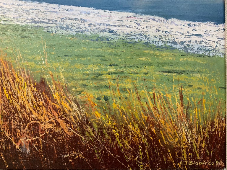 Crummock Water in the English Lake District by Modern British Landscape Artist For Sale 9