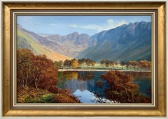 Buttermere & Haystacks in the English Lake District by Modern British Artist
