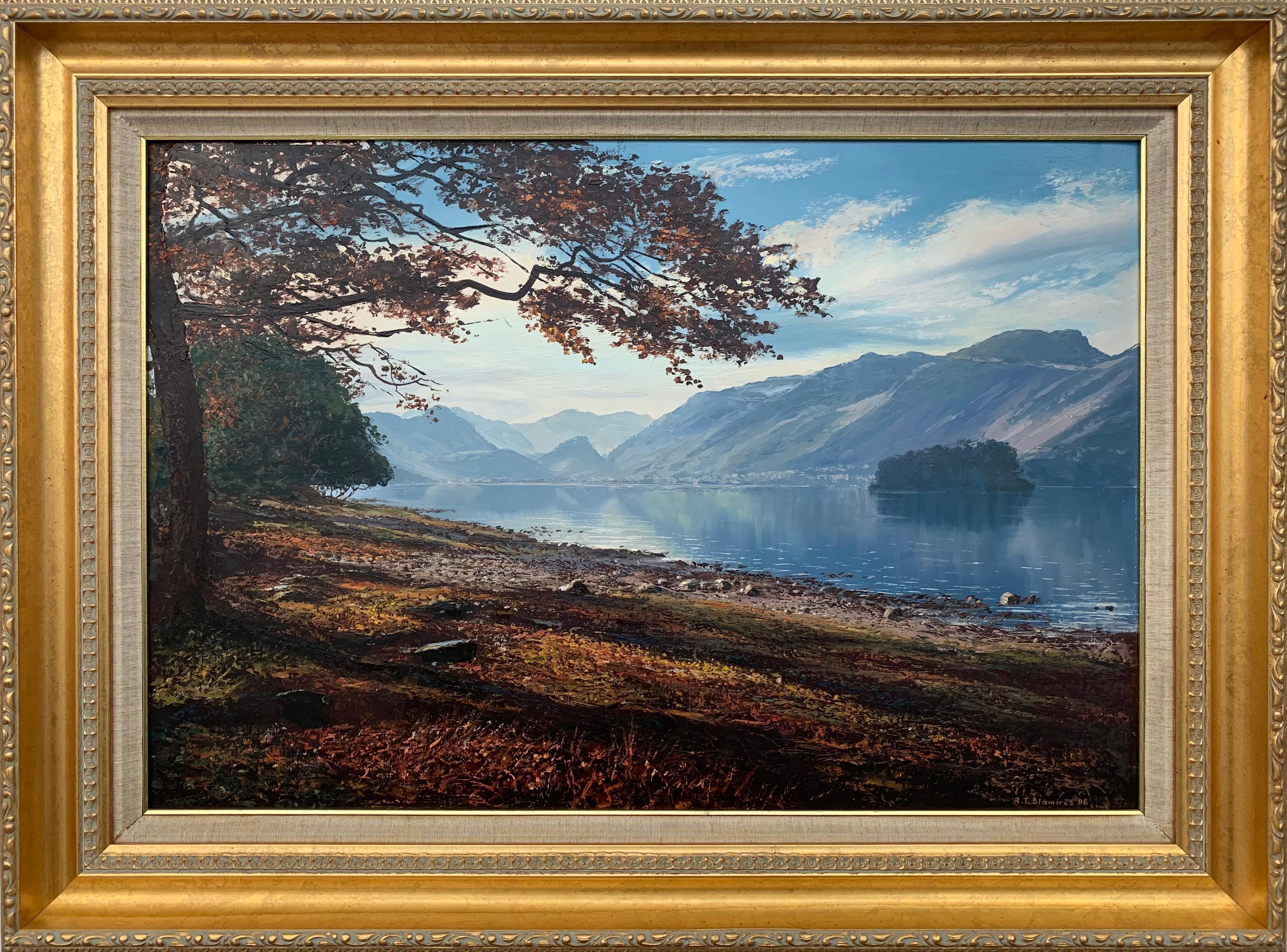 Borrowdale & Scafell in English Lake District by Modern British Landscape Artist