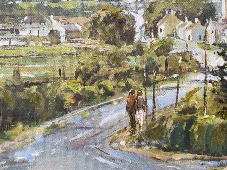 The Road to Dundrum Northern Ireland by Modern Irish Landscape Artist For Sale 4