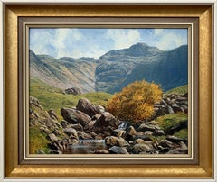 Oil Painting of the English Lake District by Modern British Landscape Artist