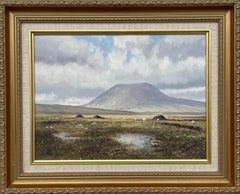 Original Oil Painting Slemish Mountain County Antrim Ireland by Irish Artist