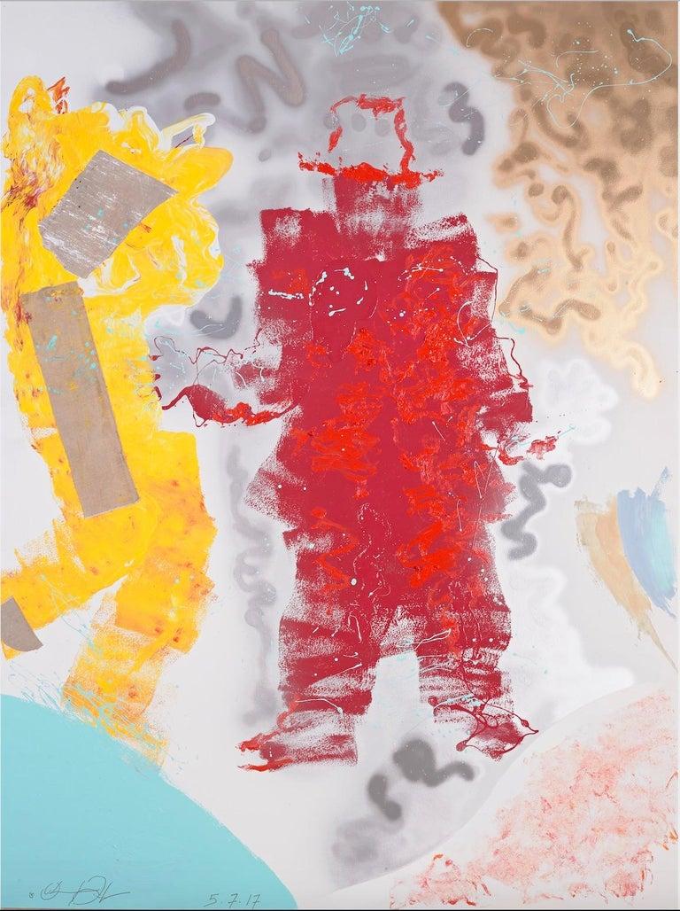 Oliver Lee Jackson Figurative Painting - No. 3