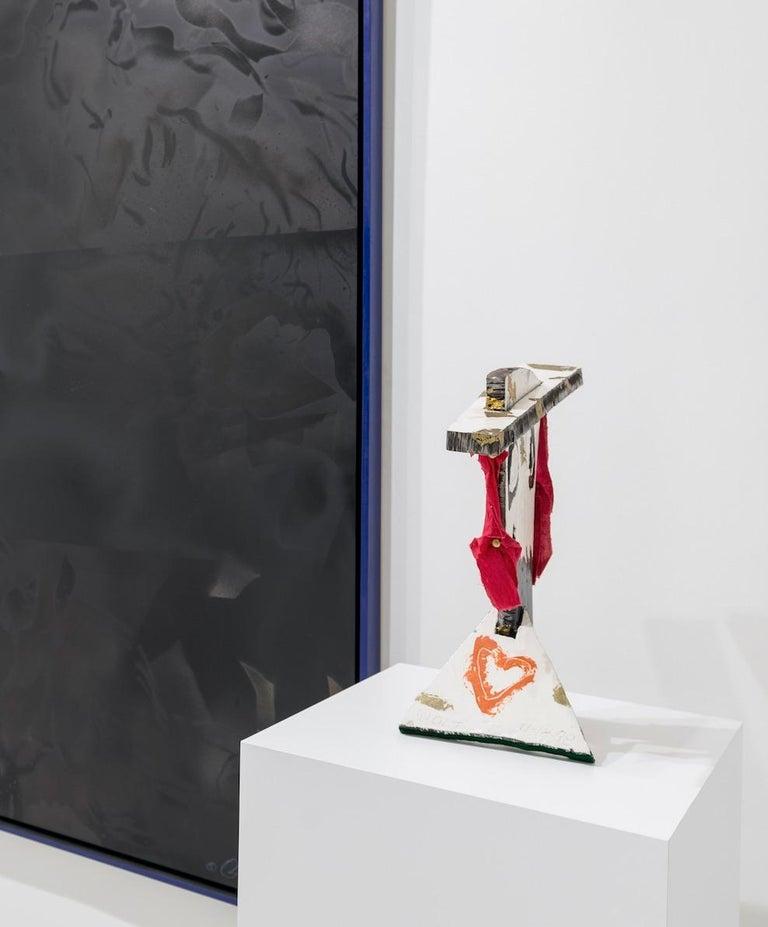 Bust VI (Figurative Mixed Media Sculpture) For Sale 4