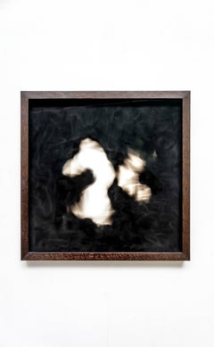 Equivalents no. 11 - Contemporary, abstract, candle soot, by Guy Haddon Grant