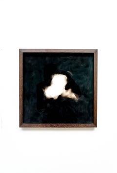 Equivalents no. 22 - Contemporary, abstract, candle soot, by Guy Haddon Grant