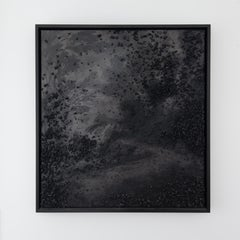 The Long Road - Contemporary pigment print, charcoal, by Dean + James
