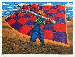 Geech, Signed Lithograph, African American Gullah/Geechee Culture
