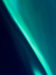 """""""Aurora 6"""" - contemporary photograph, blue"""