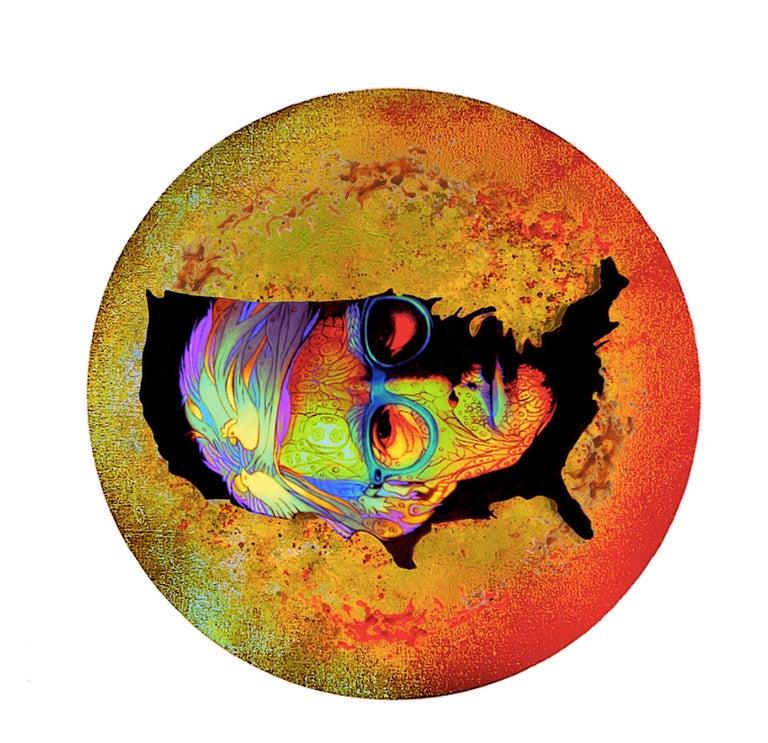 Andy Warhol's portrait