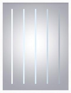 """September"" - minimalistic digital print, silver"