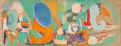Marie Raymond - L'œil bleu du lointain - 1950 - Gouache on paper