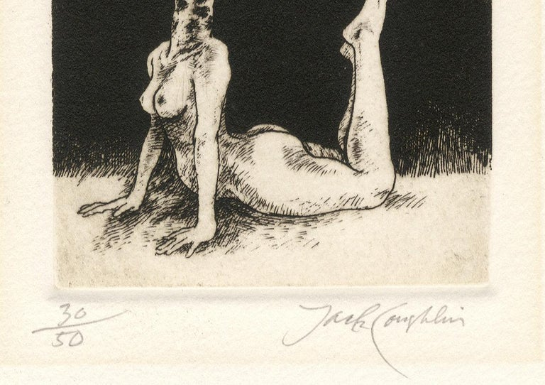 Giraffe (young female nude with the head of a giraffe) For Sale 2