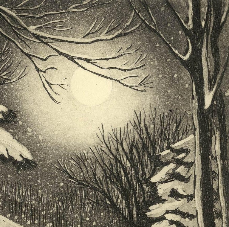 Silent Snow (Poetical imagery and Christmas memories in New England) 1