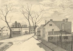 Hudson Valley Street (This impression was created as part of WPA Project)