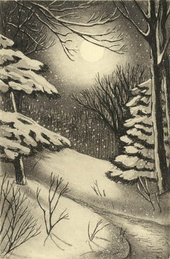 Silent Snow (Poetical imagery and Christmas memories in snowy New England)