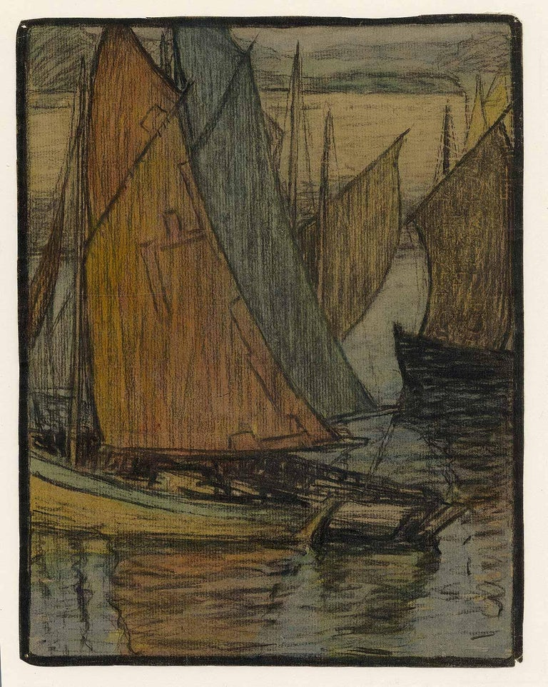 Brenetta Herrman Crawford Painter. Born in Toledo, OH on Oct. 27, 1875. Brenetta was the wife of artist Earl Stetson Crawford. She studied at the ASL of NYC and in Paris with Whistler. With Hitler on the march, she returned to the U.S. from France