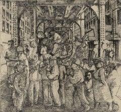 The Loop VI (the artist's memories of days at Chicago's Art Institute)