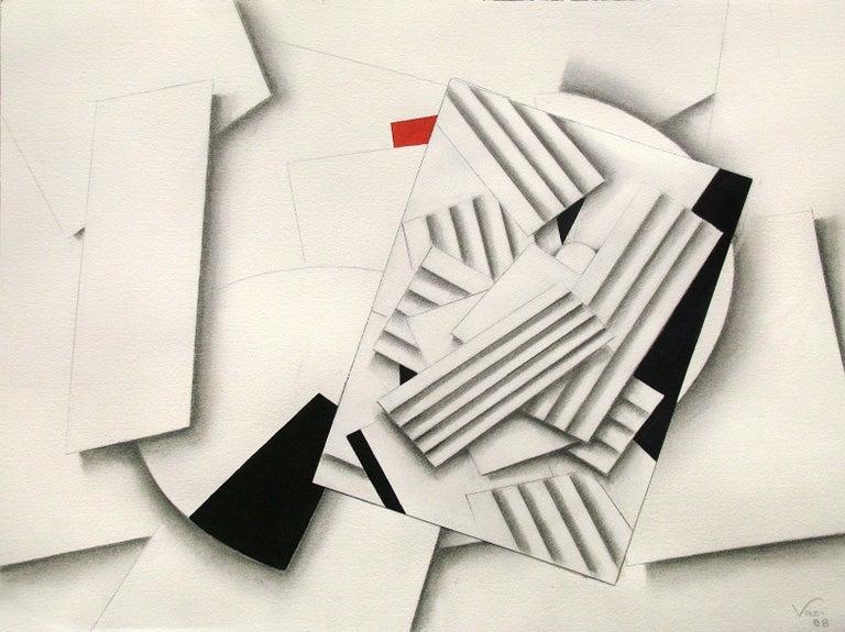Sophia Vari Abstract Drawing - COMPOSITION 241a