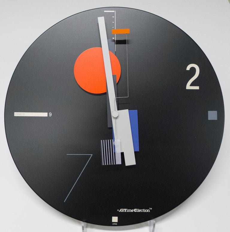 ART TIME WALL CLOCK - Mixed Media Art by Nicolai Canetti