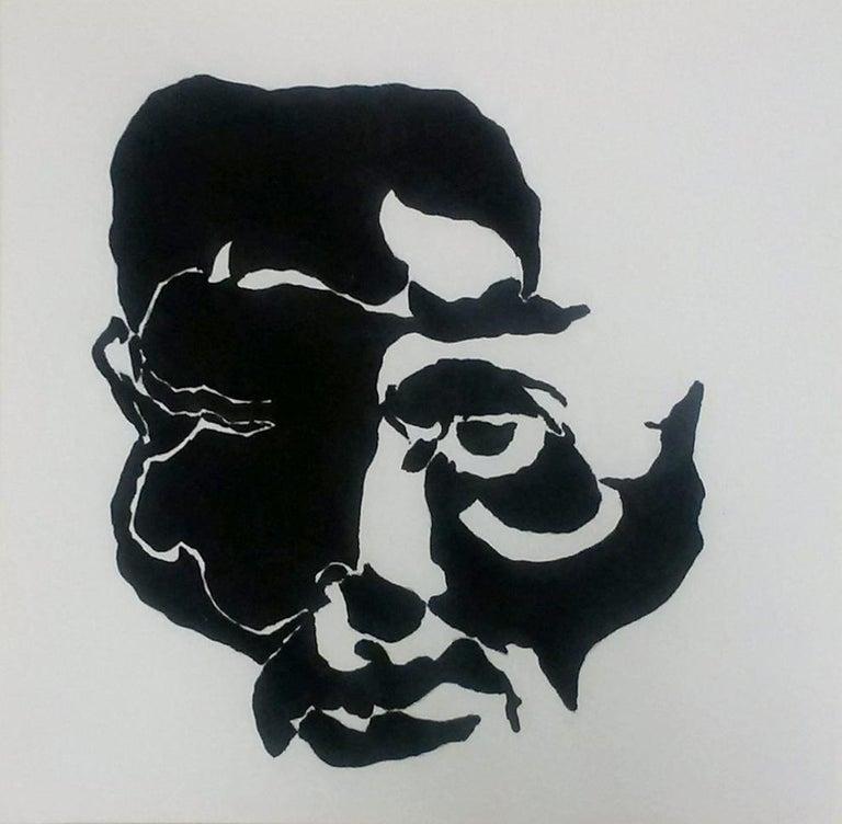 Gregg Louis Figurative Art - BLIND SELF PORTRAIT