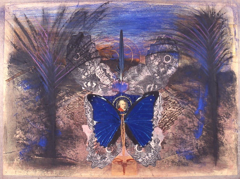 Tropical Mozart - Mixed Media Art by Silvio Merlino