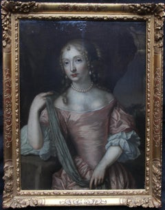 Portrait of Maria von der Pflaz Queen of Spain - Dutch Golden Age oil painting