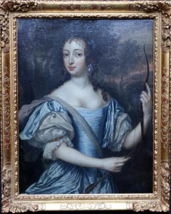 Portrait of Dutch Princess Maria von Oranje Nassau - Golden Age art oil painting
