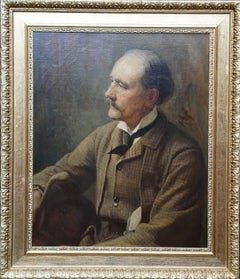 Portrait of Charles Francis Montresor 1825-98 British Victorian art oil painting