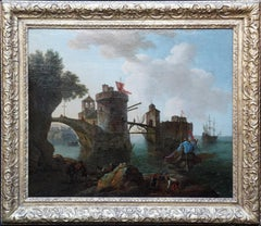 Dutch Marine Shipping Seascape - Golden Age art Old Master oil painting boats