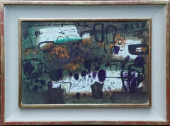 Abstract Landscape - Mendham Suffolk 1965 - British Abstract landscape painting