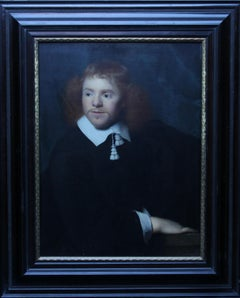 Portrait of a Gentleman - Dutch Golden Age Old Master 17th century oil painting
