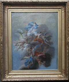 The Assumption - French Renaissance  Old Master religious oil painting