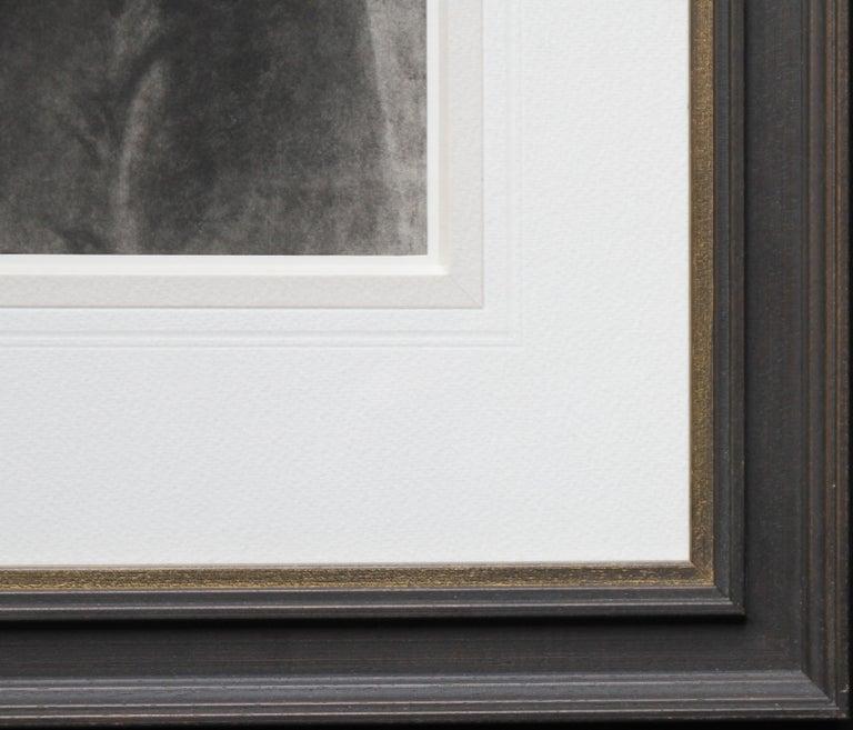 Portrait of Young Girl -Victorian British PreRaphaelite portrait pencil drawing  For Sale 5
