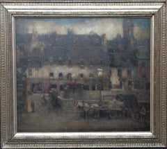 Sam's Breaghy Co Donegal - Scottish Impressionist 30's art oil painting Ireland