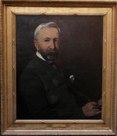 Portrait of William Wynch George Back Willis - Royal Marine Major - 19thC art