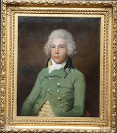 Portrait of Alexander Mackenzie - British 18thC art Old Master oil painting