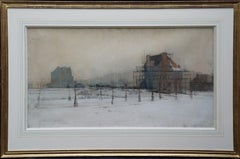 New Neighbourhood - British London Victorian landscape 1889 Paris gold winner