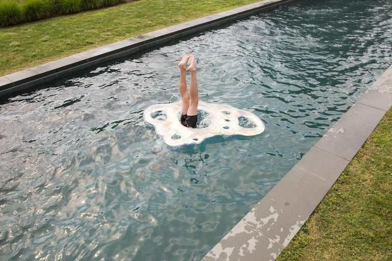 Misha Kahn Bellyflop Pool Float - Art by Misha Kahn