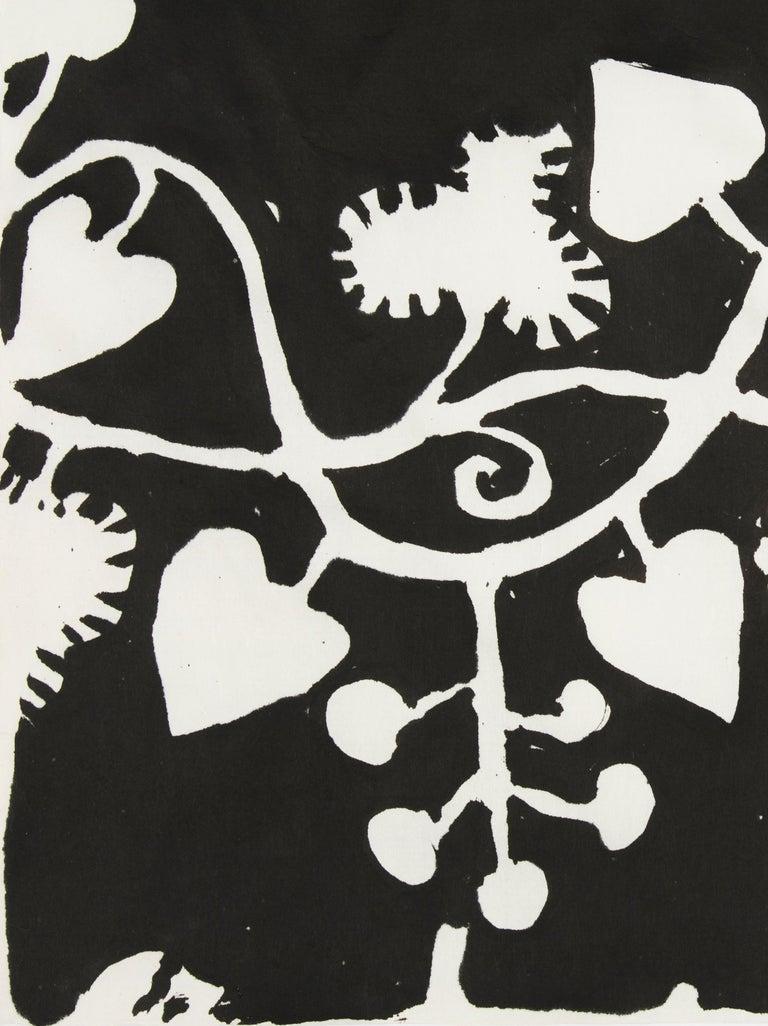 Elisabeth Kley's Men with Grapes Silkscreen Print For Sale 1