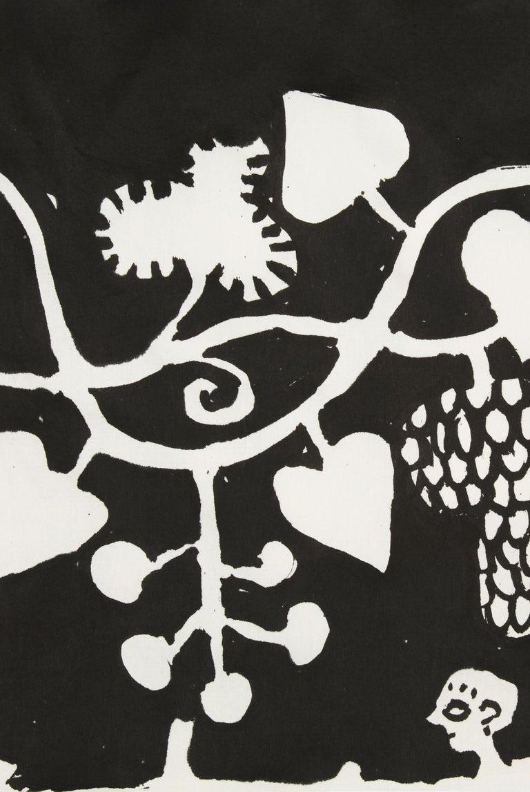 Elisabeth Kley's Men with Grapes Silkscreen Print For Sale 2