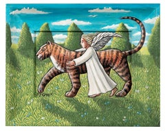 Small Tiger and Angel Study