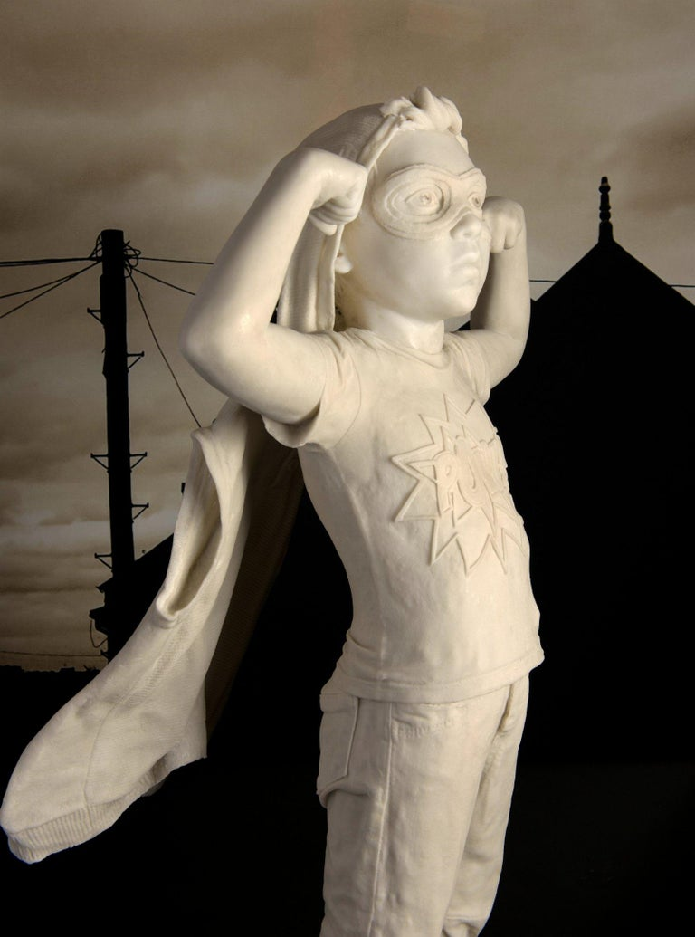 Pow - Sculpture by Cathy Lewis