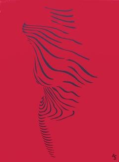 la femme nue (rouge)