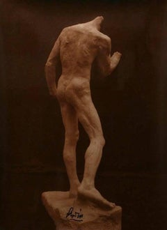 Study for 'The Burghers of Calais': Pierre de Wissant, View from Behind, 1886