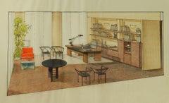 Original Interior by Renato Magri 1987