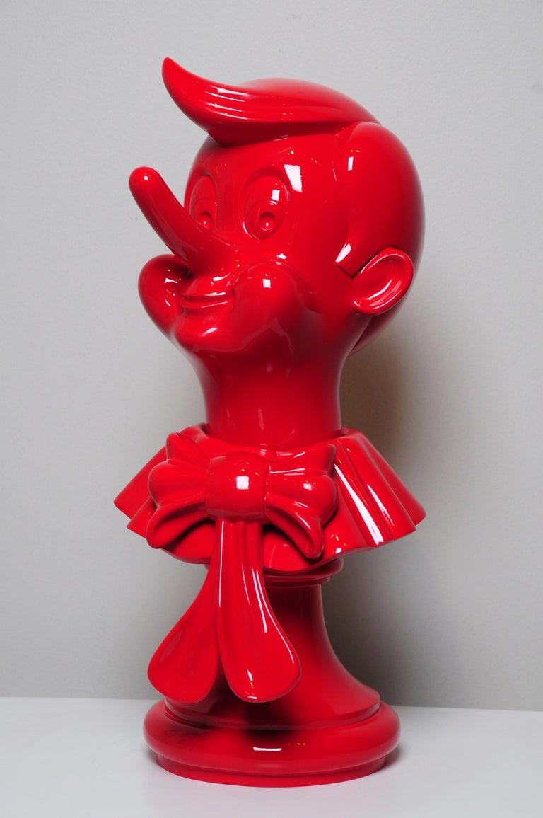 Andrés Amaya Figurative Sculpture - Pinocho