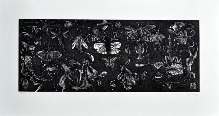 Sergio Hernández Figurative Print - Sin título