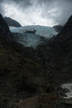 Clearing Rain, The Franz Josef Glacier, New Zealand - Contemporary Photography