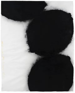 Black Lemons, 31 May 1985 - Donald Sultan (Abstract Drawings and Watercolours)